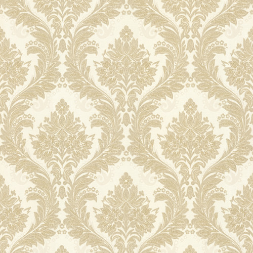 Brewster Home Fashions Juliette Mercutio 33' x 20.5'' Damask 3D Embossed Wallpaper