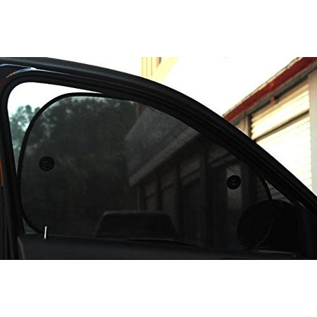 Wellco Car Window Shade and Windshield Car Sunshade, Side Window Sun visor for Ultimate UV Protection for Drivers, or Children or Baby ()