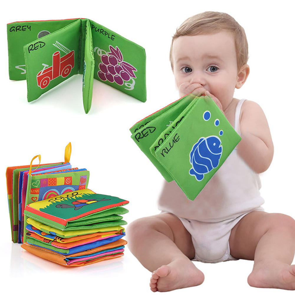 Directer Intelligence Development Funny Cloth Cognize Book Educational Toy for Kids Baby