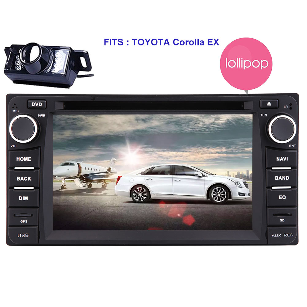 "Eincar Quad-core HD 6.2"" Lollipop Android5.1.1 Car Radio Double Din Stereo in Dash Capacitive Touch... by EinCar"