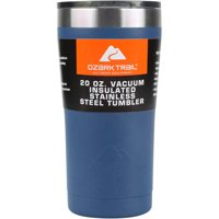 Ozark Trail 20-Ounce Double-Wall, Vacuum-Sealed Tumbler Blue
