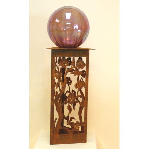 Z Garden Party Blossom Gazing Ball Pedestal by