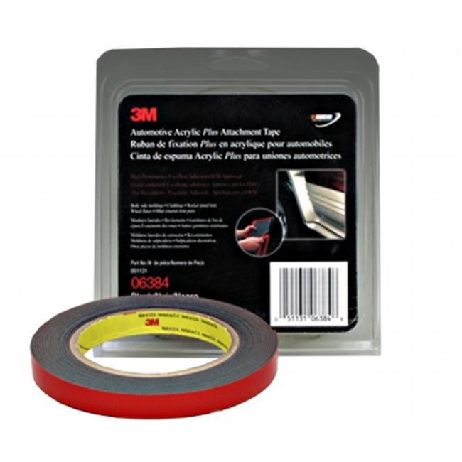3M Company  3M-6384 0.5 in. x 5 yard Attachment Tape