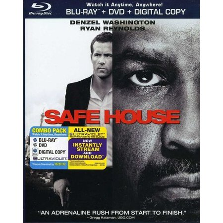 Safe House  Blu Ray   Dvd   With Instawatch   Widescreen