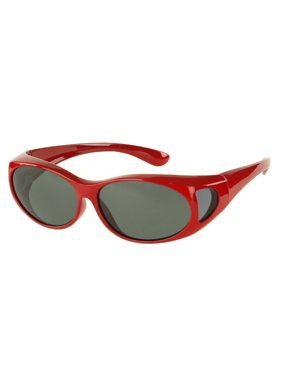 LensCovers Wear Over Polarized Sunglasses - Small
