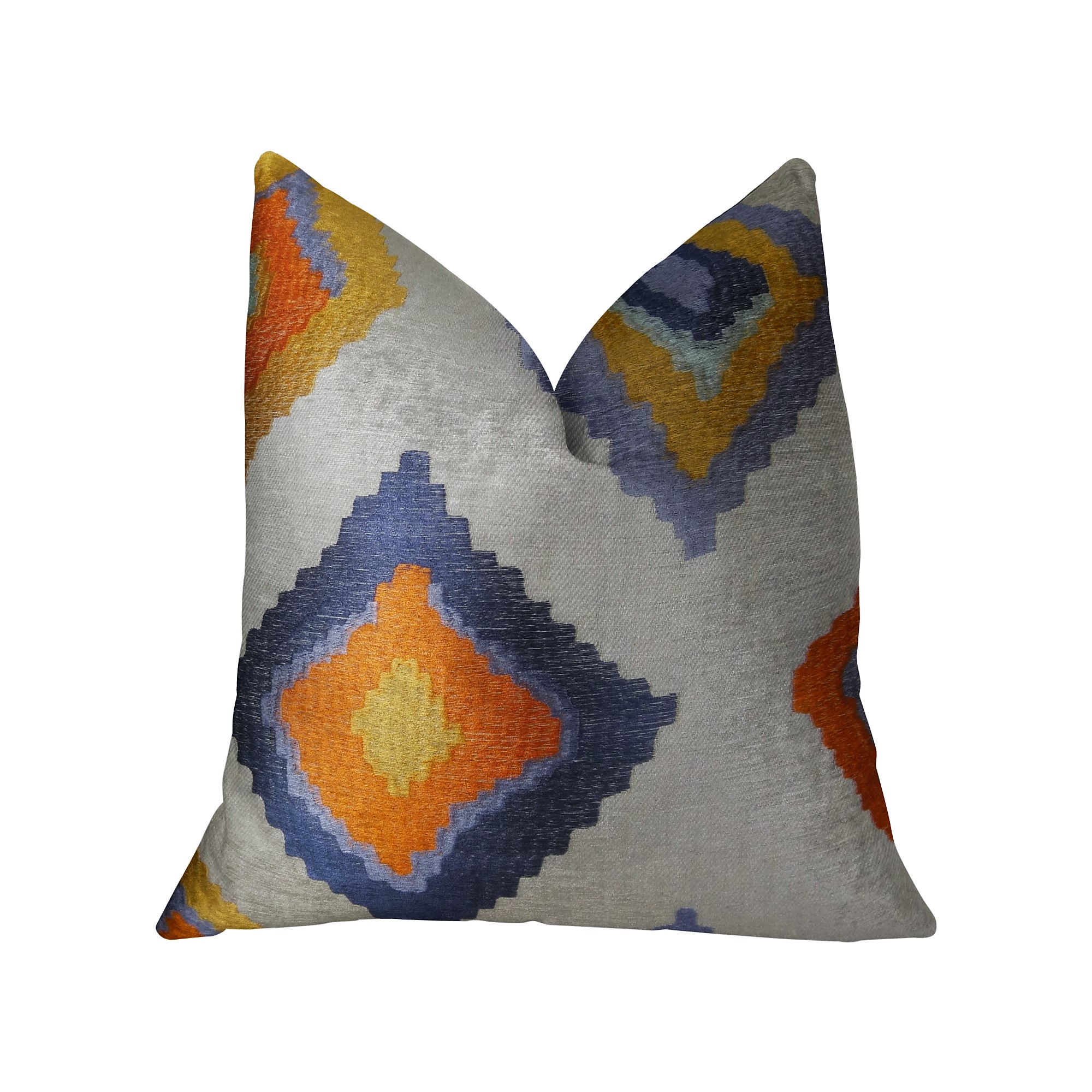 Plutus Native Trail Cayenne Handmade Throw Pillow Double Sided Walmart Com Walmart Com