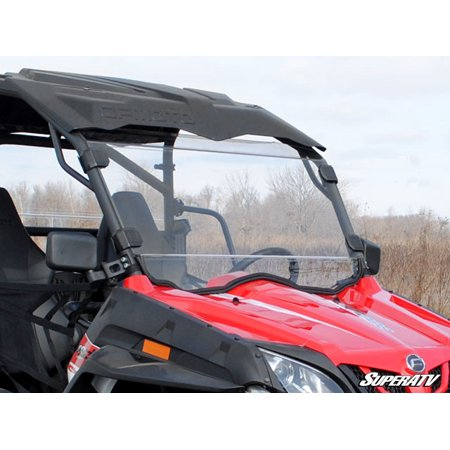 CFMOTO ZForce 800EX Scratch Resistant Full Windshield
