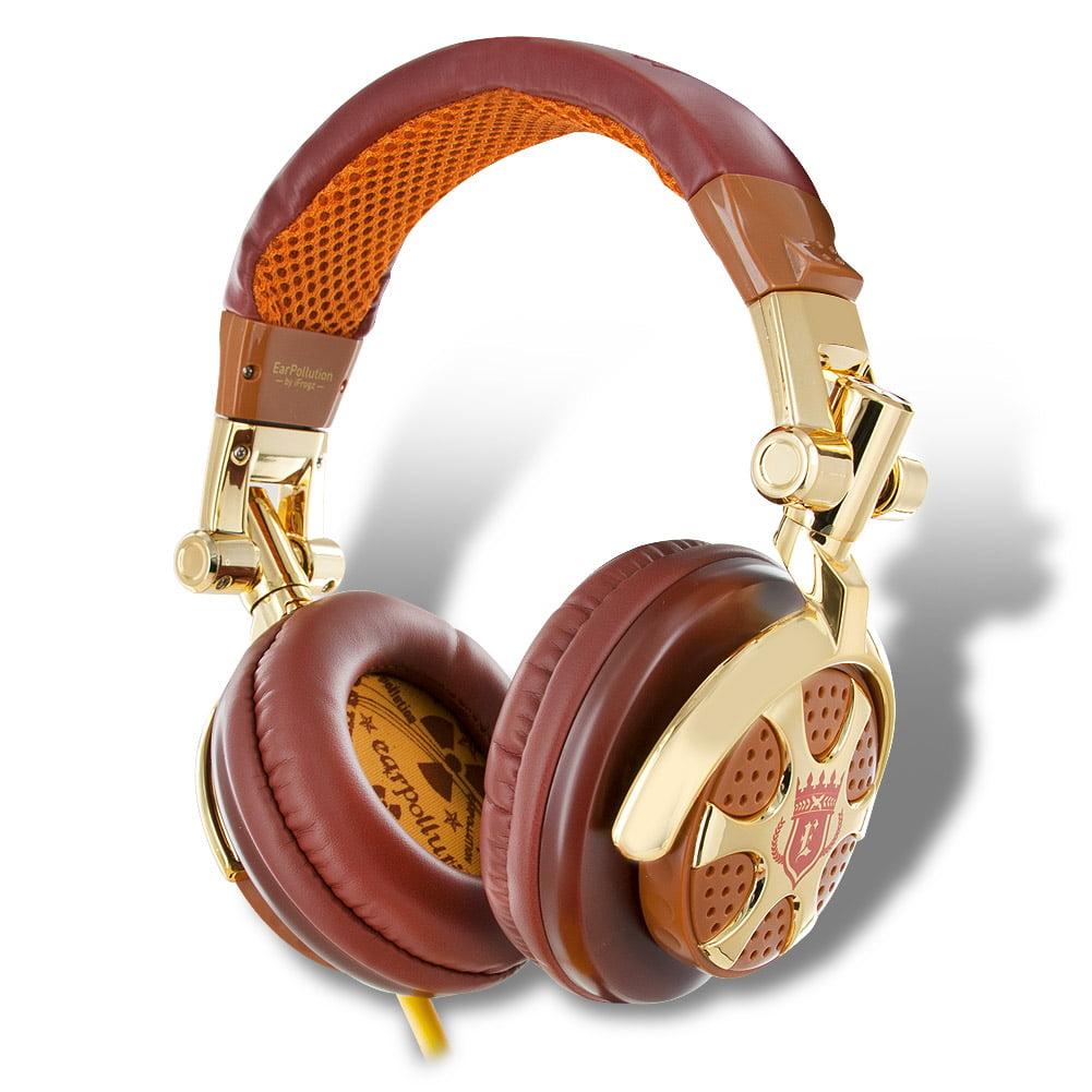 iFrogz EarPollution Billionaire DJ-Style Headphones EP-DJ-BILLION