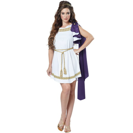 Grecian Toga Dress Adult Costume