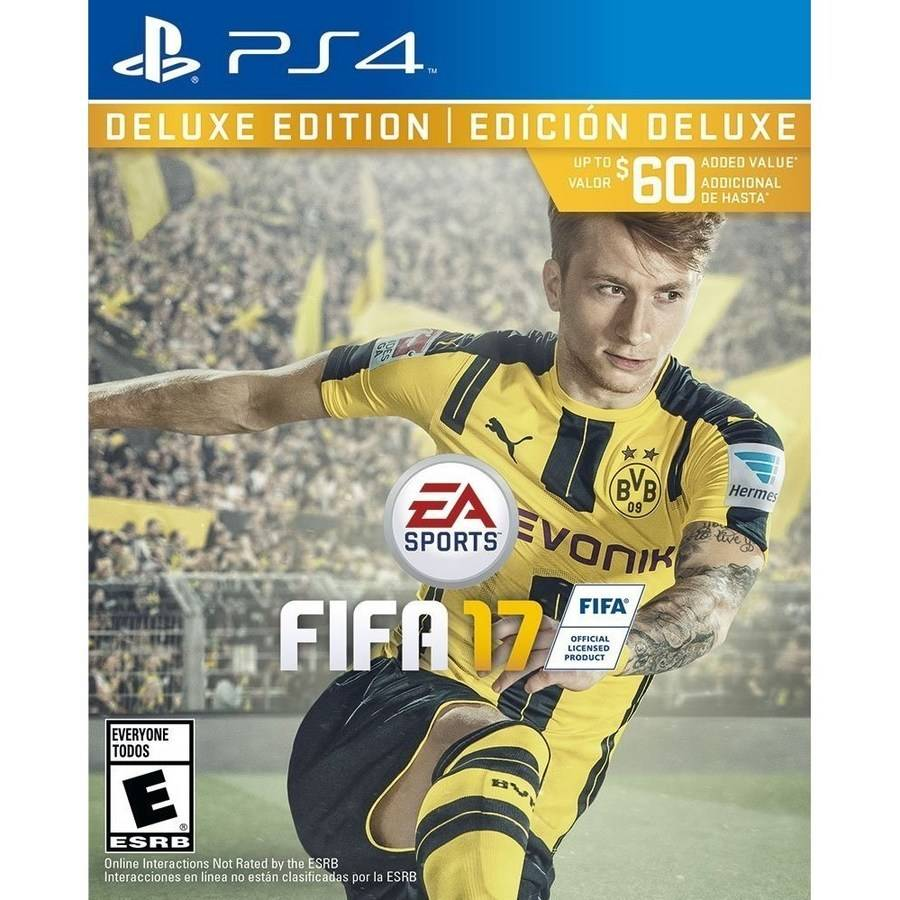FIFA 17 Deluxe Edition (Playstation 4) by EA