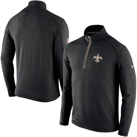 outlet store 9c958 108e9 Nike - Men's Nike Black New Orleans Saints Game Day Half-Zip ...