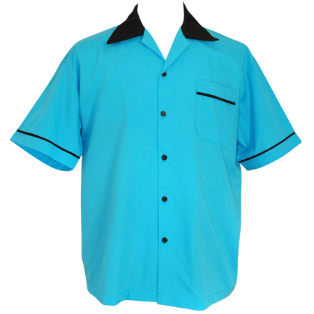 d9bb35679 BeRetro - Retro USA Made Bowling Shirt ~ BeRetro Rock n Roll ~ Purple