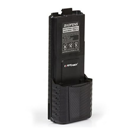 Extended Capacity Battery (ExpertPower Baofeng UV-5R Extended True Capacity Battery (Model: BL-5L, 3800 mAh, Black) )