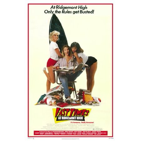 Fast Times At Ridgemont High Poster 28x40 New
