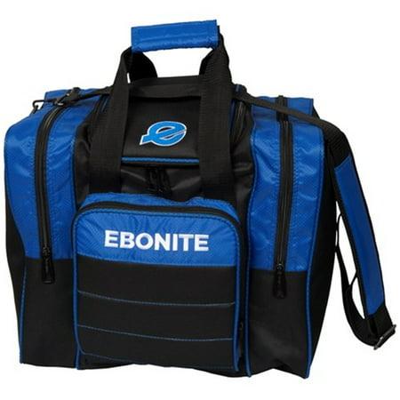 Impact Bags - Ebonite Impact Plus Single Bowling Bag- Royal/Black