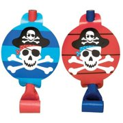 Pirate's Treasure Blowouts - Birthday and Theme Party Supplies - 8 Per Pack