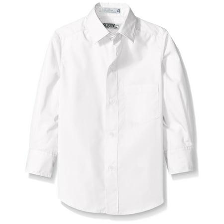 (Genuine Uniform Boys Long Sleeve Woven Shirt)