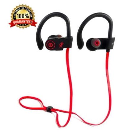 OXENON Bluetooth Headphones Best Wireless Sports Earphones, Noise Cancelling Earbuds Waterproof with MIC and CASE for