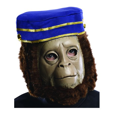 Adults Oz The Great And Powerful Finley Monkey Overhead Mask Costume Accessory