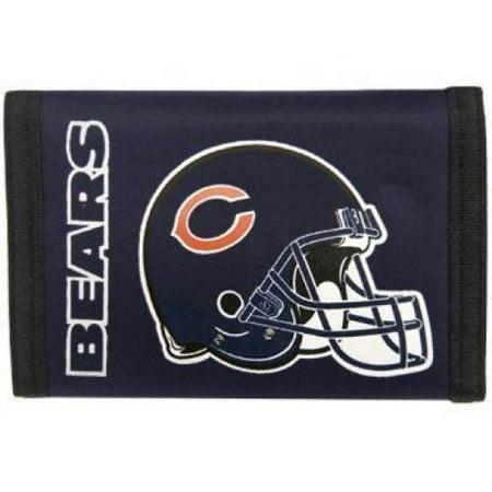 3b2518ca Chicago Bears Nylon Wallet - Walmart.com
