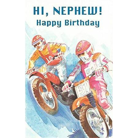 HI, NEPHEW! Happy Birthday (B8), Cover: HI, NEPHEW! Happy Birthday By Magic Moments Ship from US](Happy Halloween Nephew)