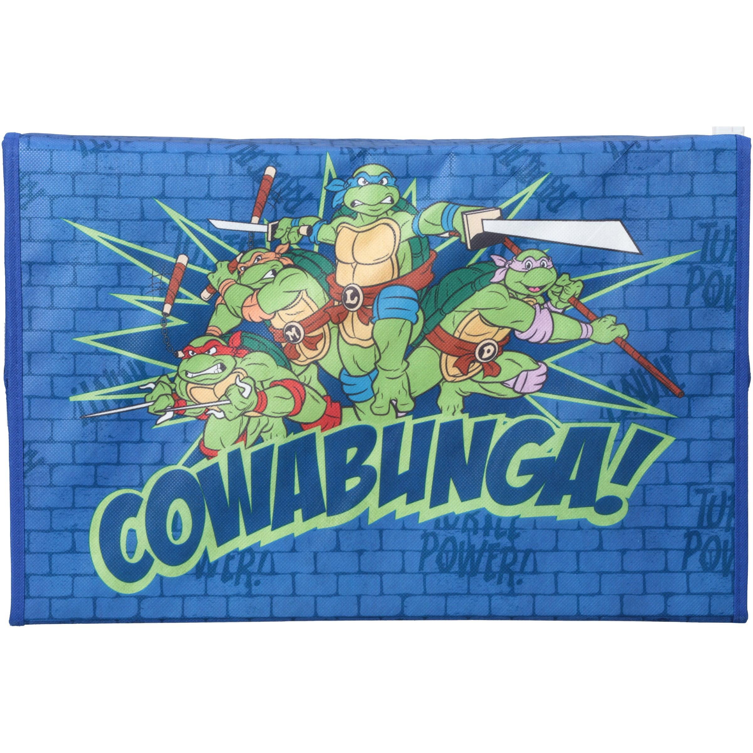 Nickelodeon Teenage Mutant Ninja Turtles Fabric Toy Box by Delta ...