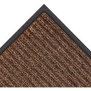NOTRAX 109S0035BR Carpeted Entrance Mat, Brown, 3 x 5 ft.