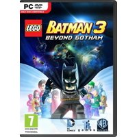 LEGO Batman 3 Beyond Gotham PC DVD-Rom - Heroes and Villains Unite to Save Earth from Brainiac