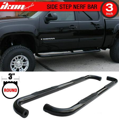 Fits 01-03 Silverado GMC Sierra 1500 2500 3500 HD Side Step Bar Running Boards ()