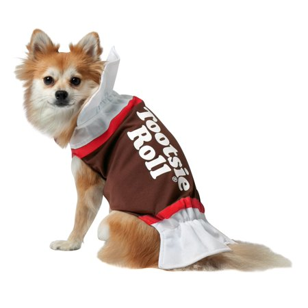 Tootsie Roll Dog Costume - Black Dog Costumes