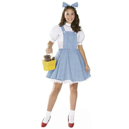 Dorothy Teen Costume - Childs Dorothy Wizard Of Oz Costume