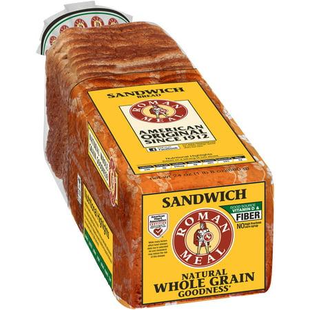 Lewis Bakeries Roman Meal Bread, 24 oz - Walmart com