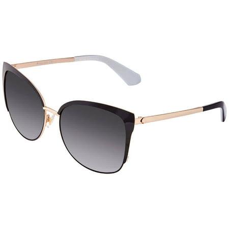 Kate Spade Gray Gradient Cat Eye Ladies Sunglasses (Kate Spade Eyes)
