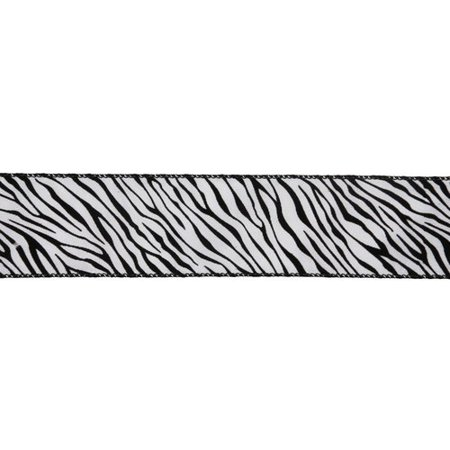 Vickerman Zebra Ribbon](Zebra Print Ribbon)