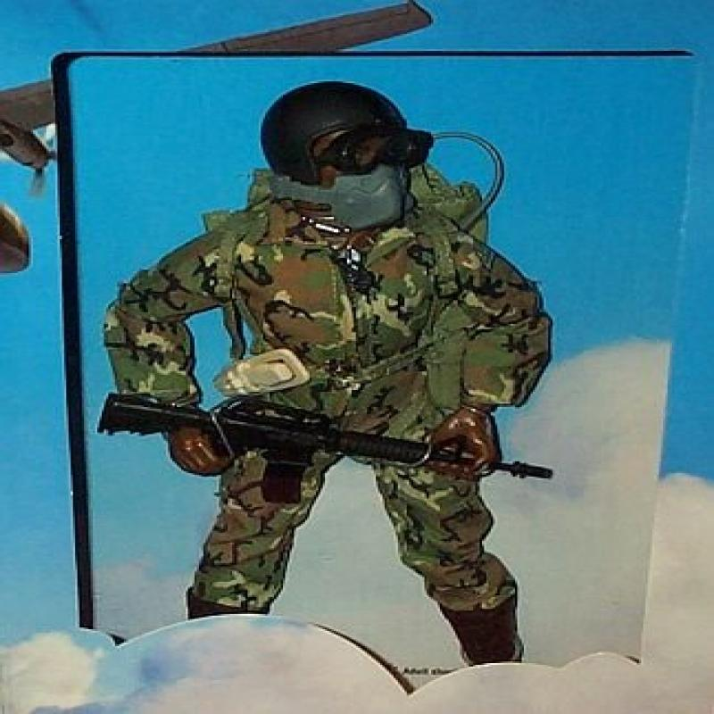 GI Joe U.S. Airborne Ranger 12 Action Figure (African American Version) by