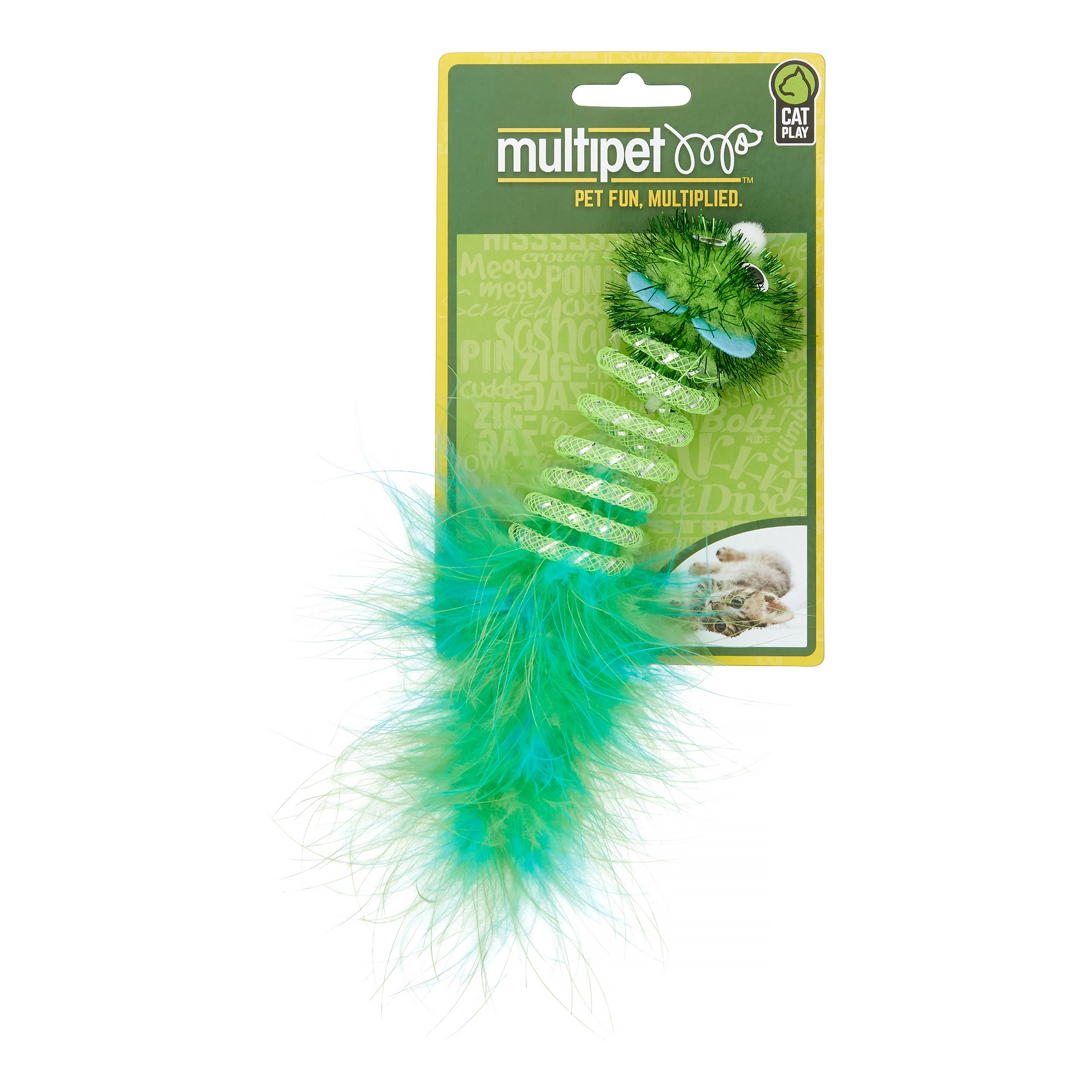 MultiPet Spring Mouse Cat Toy, 7\ by Multipet