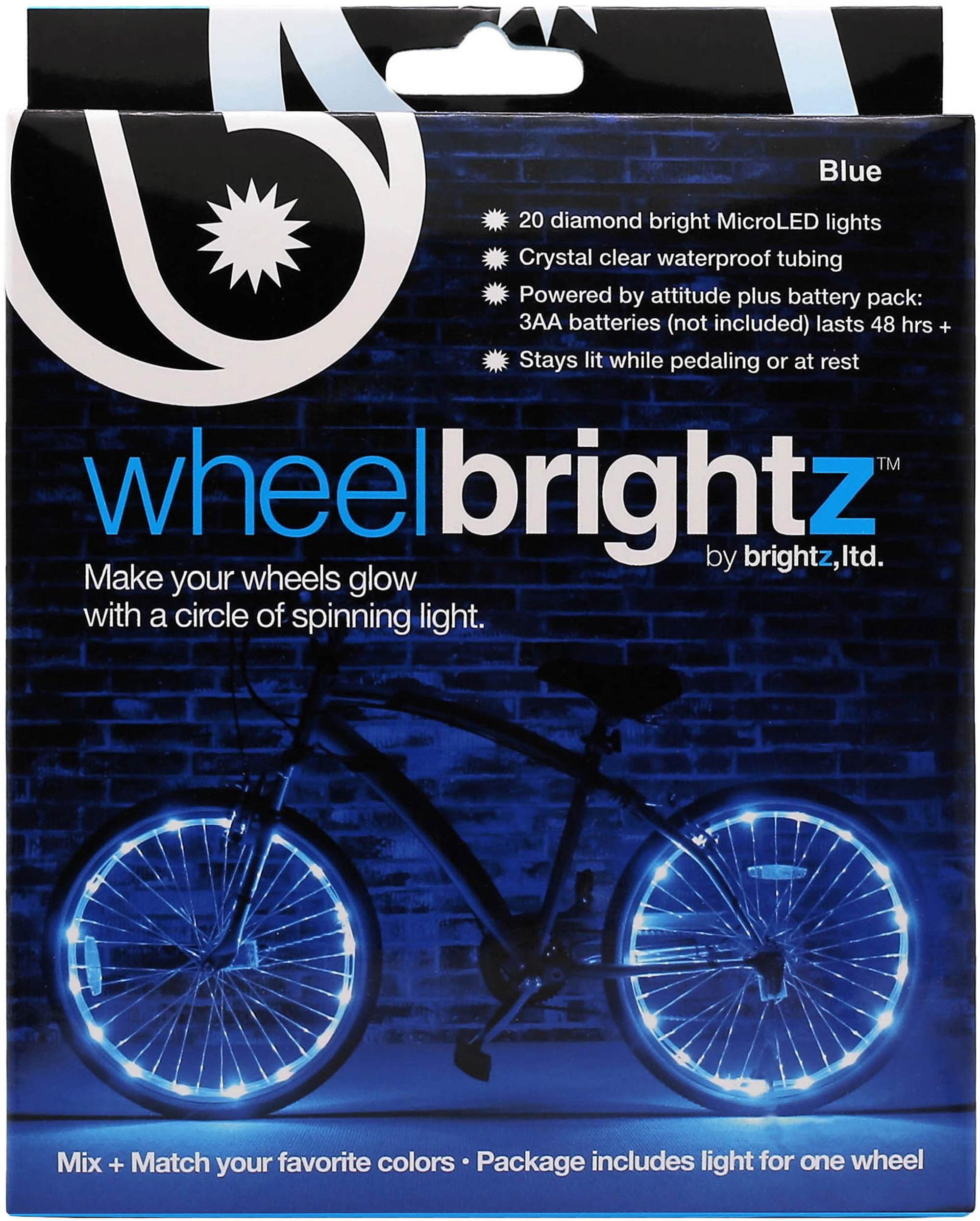 Brightz, Ltd. Blue Wheel Brightz LED Bicycle Wheel Accessory (For 1 ...