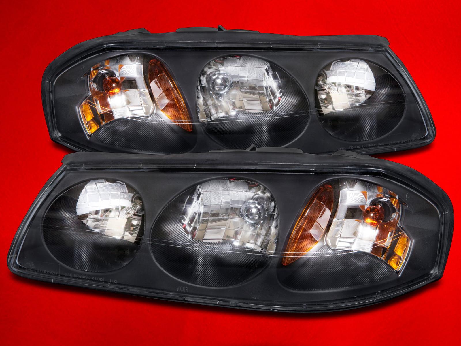 2000 2004 Chevy Impala Headlights Set W Xenon Bulbs Gm2502201 And Gm2503201