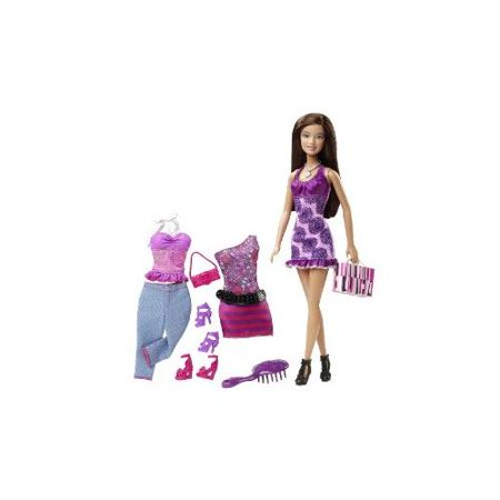 Barbie Doll And Fashions Gift Set Multi-Colored