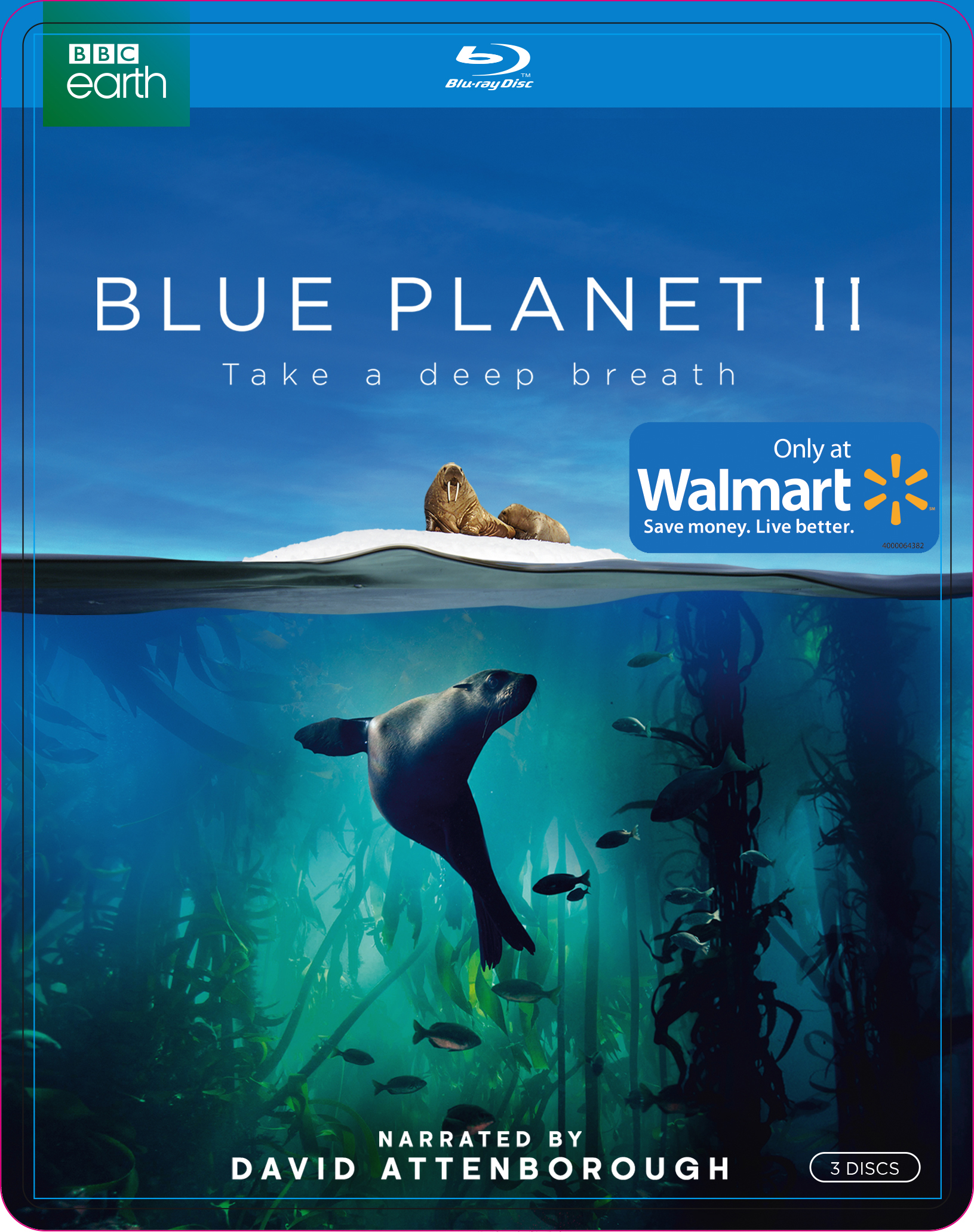 Blue Planet II (Walmart Exclusive) (Blu-ray) by