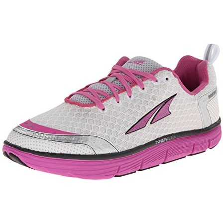 Womens Jumper Fitness Shoe - Altra Running Women's Intuition 3 Fitness Running Shoe, Silver/Pink, 6.5 M US