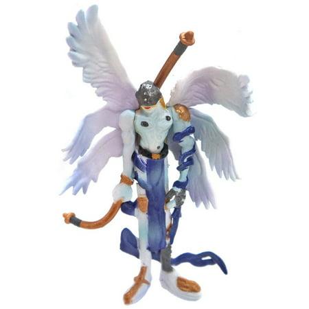 Ver Pvc Figure (Digimon Digital Monster Capsule Mascot Collection Ver. 3 Angemon Mini PVC Figure )