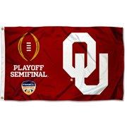 oklahoma sooners 2015 football playoff 3' x 5' pole flag