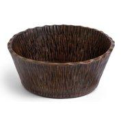 "Premier Copper Products Pvrtr 14-1/2"" Round Vessel Hammered Copper Bathroom Sink - Bronze"
