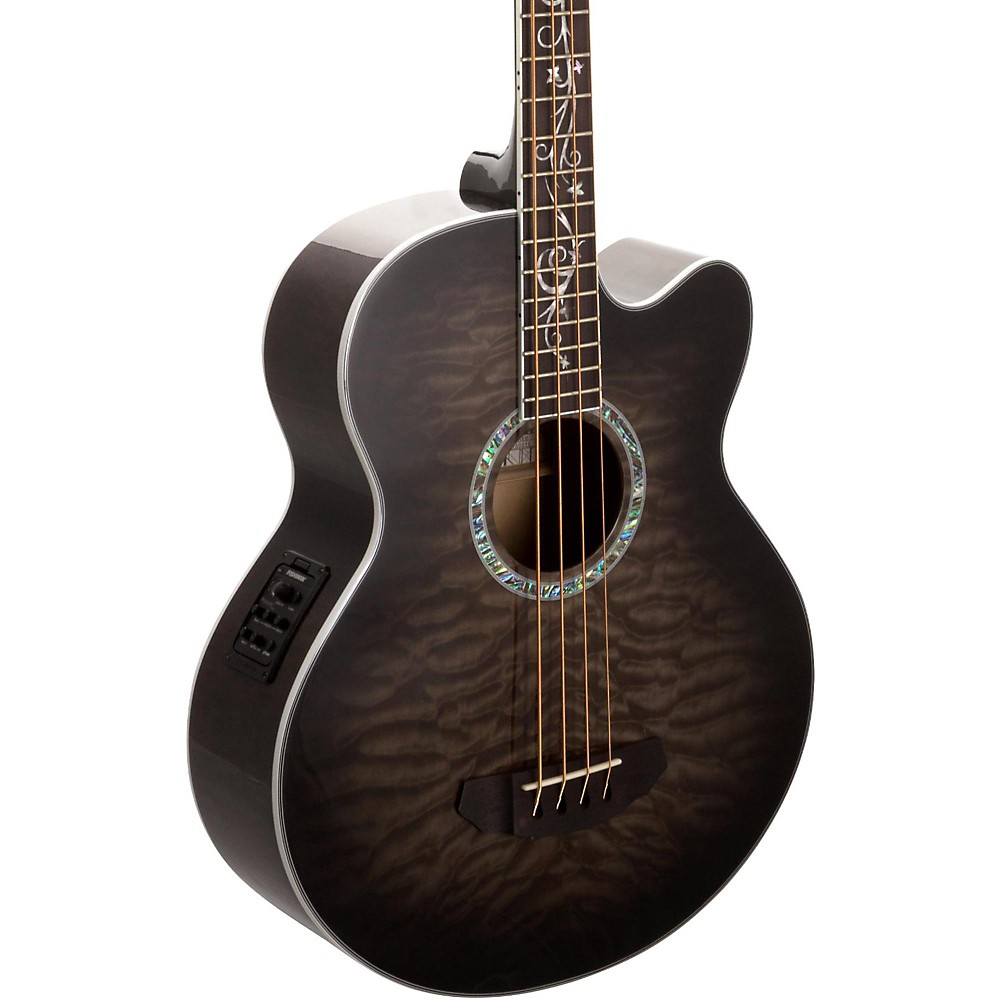 Michael Kelly Dragonfly 4-String Acoustic-Electric Bass Smoke Burst by Michael Kelly