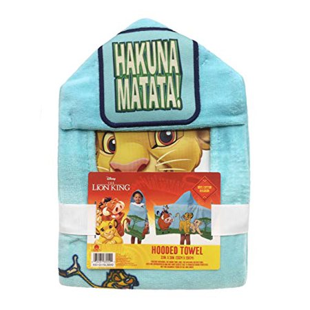 Lion King Hooded Bath Towel Lion Hooded Towel