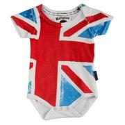 Religion Unisex Baby's Flag Printed Bodysuit