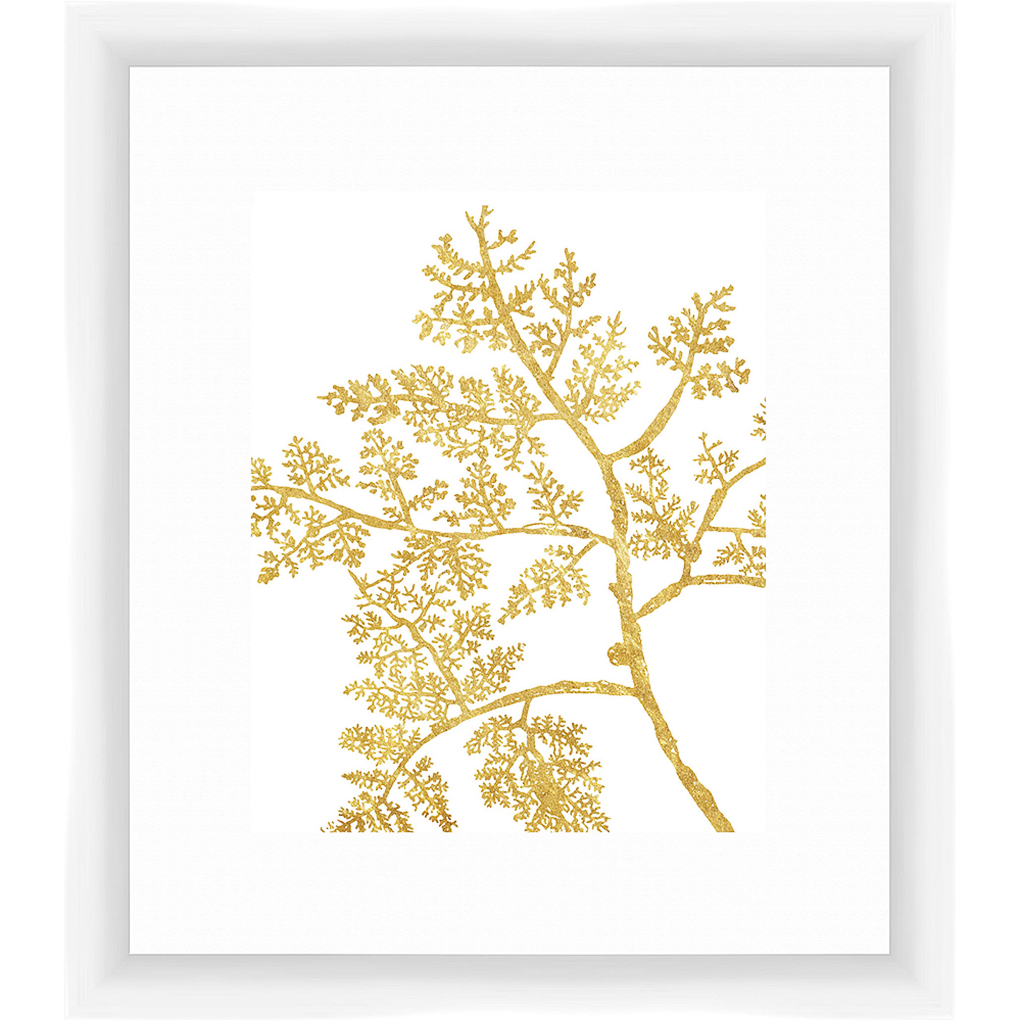 Golden Elements II Wall Art, 14x16