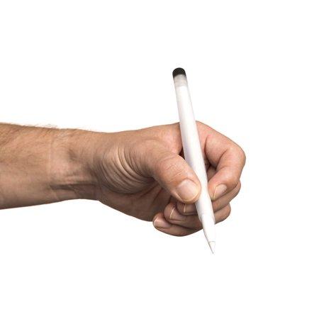 Griffin Griffin Pencil Sleeve for Apple Pencil, Ergonomic Non-Slip Grip, Unique Spiral Wrap Captures and Holds Cap in - Ergonomic Pencil Grip
