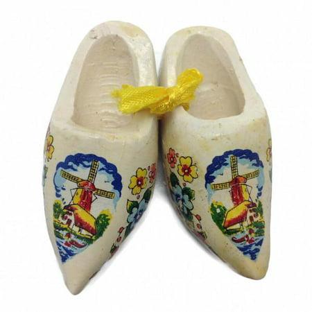 Dutch Wooden Shoes Clogs Multi-Color Holland Wooden Shoe